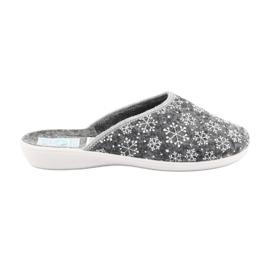 Adanex 24215 felt snowflake slippers