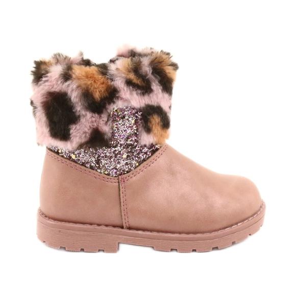 American Club American GC45 pink girls boots