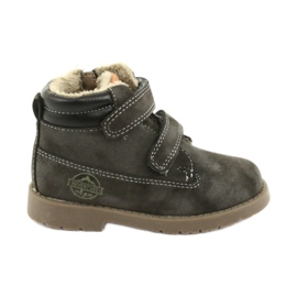 Timberki Boots with Velcro American Club GC43 grey