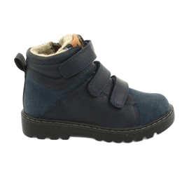 Timberki Boots with Velcro American Club GC40 navy