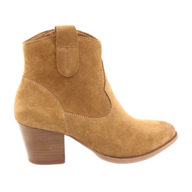 Cowboy suede boots Anabelle 1466 light Camel