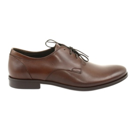 Leather shoes Pilpol 1609 brown