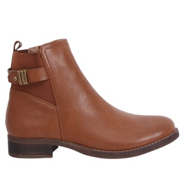 Camel 1304 Camel Chelsea boots for women brown