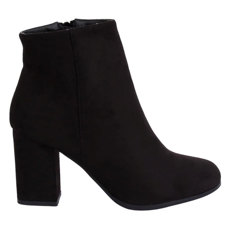 Black high-heeled boots G-7656 Black