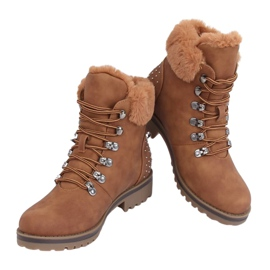 Women's camel boots Z172 Camel brown