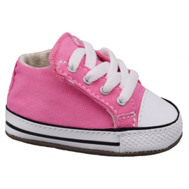 Pink Converse Chuck Taylor All Star Cribster Jr 865160C shoes