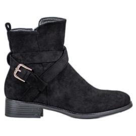 Filippo Suede Boots black