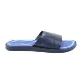 Men's slippers for the Atletico dark blue pool