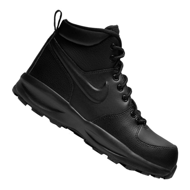 Nike Manoa Ltr Gs Jr BQ5372-001 shoes black