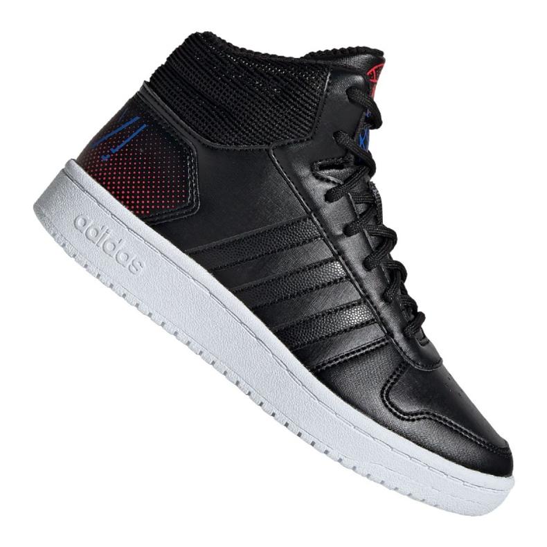 Adidas Hoops Mid 2.0 Jr EE8547 shoes black