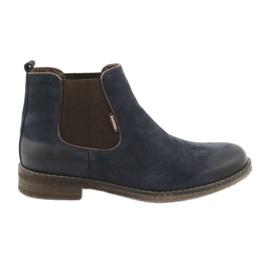 Jodhpur boots slip-on Badura 4754