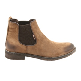 Jodhpur boots slip-on Badura 4754 brown