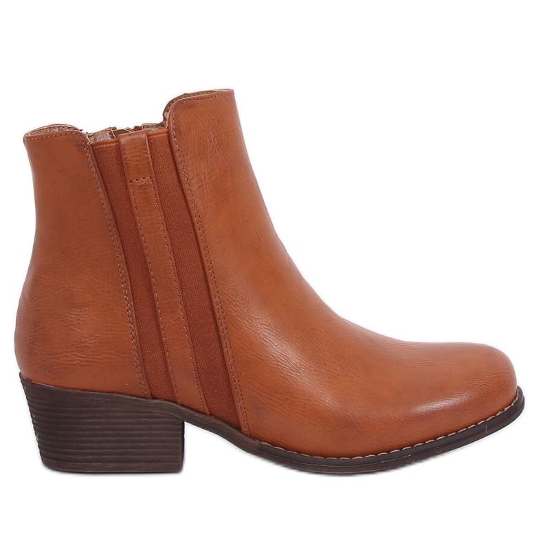 Boots Jodhpur boots camel 6391 Camel brown