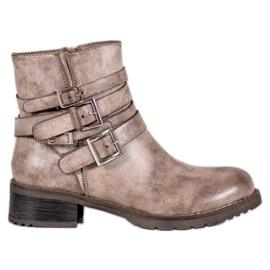 SHELOVET Classic Beige Boots