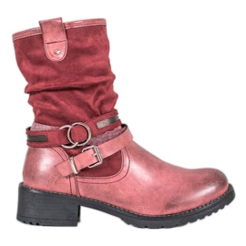 SHELOVET High Red Boots