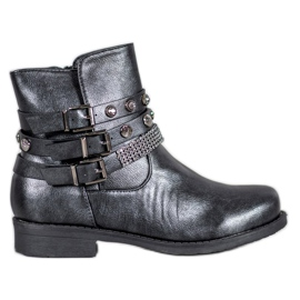 Forever Folie Graphite Boots grey