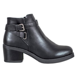 Anesia Paris Boots On A Post black