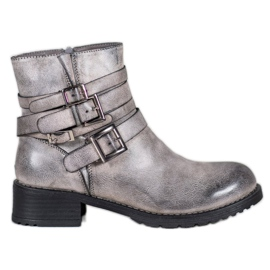 SHELOVET Classic Gray Boots grey