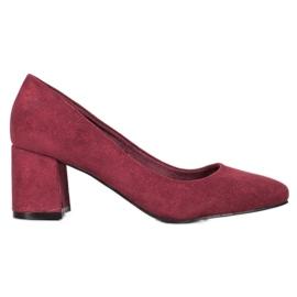 Vinceza Burgundy Shoe red