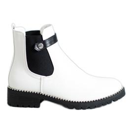 Seastar White Chelsea boots