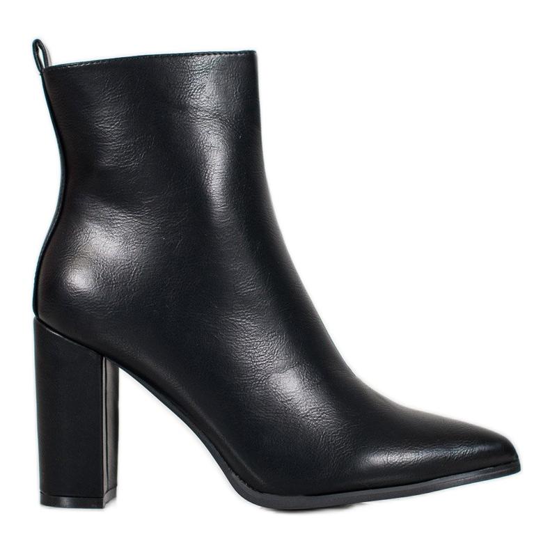 Seastar Eco-leather boots black