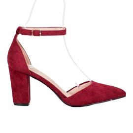 Elegant VINCEZA Pumps red