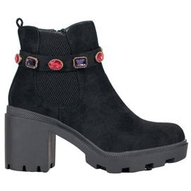 Seastar Boots On Platform black