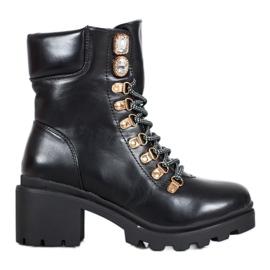 Seastar Laced High Heels black