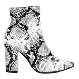Seastar Snake Print boots