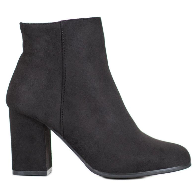 Marquiz Black suede boots