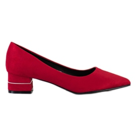 Goodin Pumps With Decorative Belt red