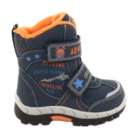 American Club American boots shoes with RL35 navy blue