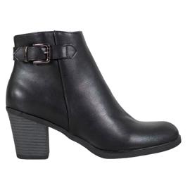 Filippo Classic Black Ankle Boots