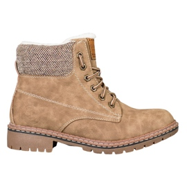 Goodin Trappers With Sheepskin brown