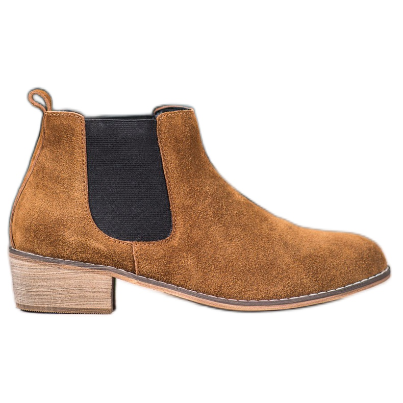 Goodin Leather Chelsea boots brown
