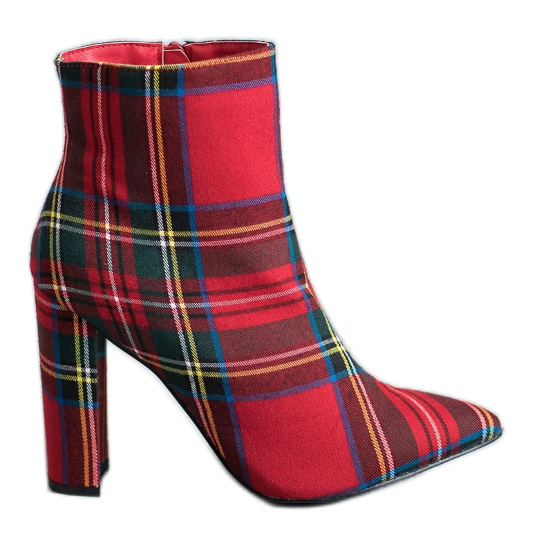 Seastar Stylish boots on a post red multicolored