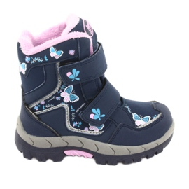 American Club boots with a membrane HL28 butterflies