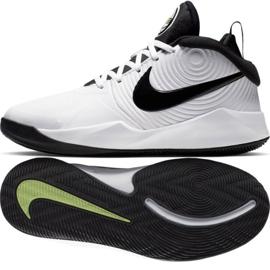Nike team Hustle D 9 (GS) Jr AQ4224-100 shoes white white