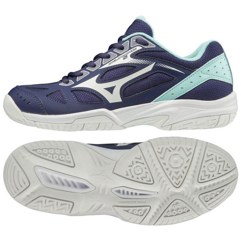 Mizuno Miznuno Cyclone Speed 2 W V1GC198015 shoes navy navy blue