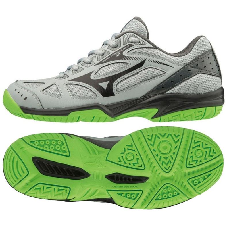 Mizuno Cyclone Speed 2 Jr V1GD191037 shoes grey gray / silver