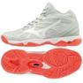 Mizuno Wave Hurricane 3 Mid W V1GC174560 shoes white white