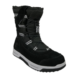 Timberland Snow Stomper Pull On Wp Jr A1UIK winter shoes black
