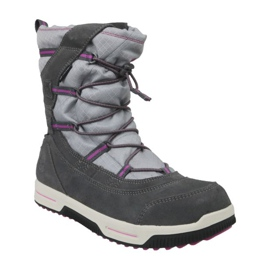Timberland Snow Stomper Pull On Wp Jr A1UJ7 winter boots grey