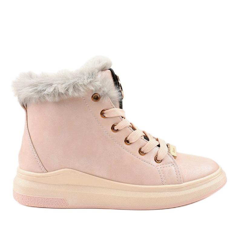 Warm pink sneakers TL135-3