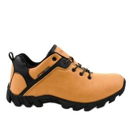 Yellow trekking shoes 2019B