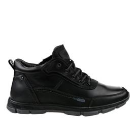 Black R7163-1 trekking footwear