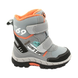 American Club boots with RL34 gray membrane