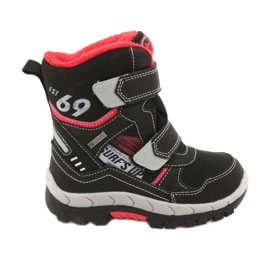 American Club boots with a membrane RL34 black