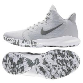 Nike Precision Iii M AQ7495-004 shoes grey white