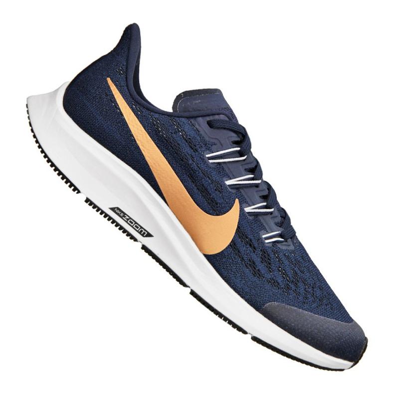 Nike Air Zoom Pegasus 36 Jr AR4149-401 shoes navy